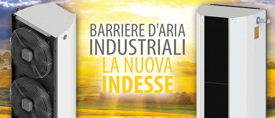 Lame D Aria Ad Acqua.Barriere D Aria Industriali La Nuova Indesse Sire Srl