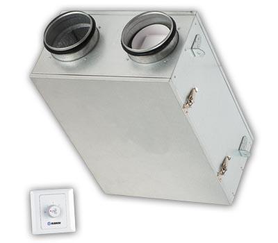 Portata: 80 m3/h<br /> Senza scarico condensa<br /> Con recupero di umidità