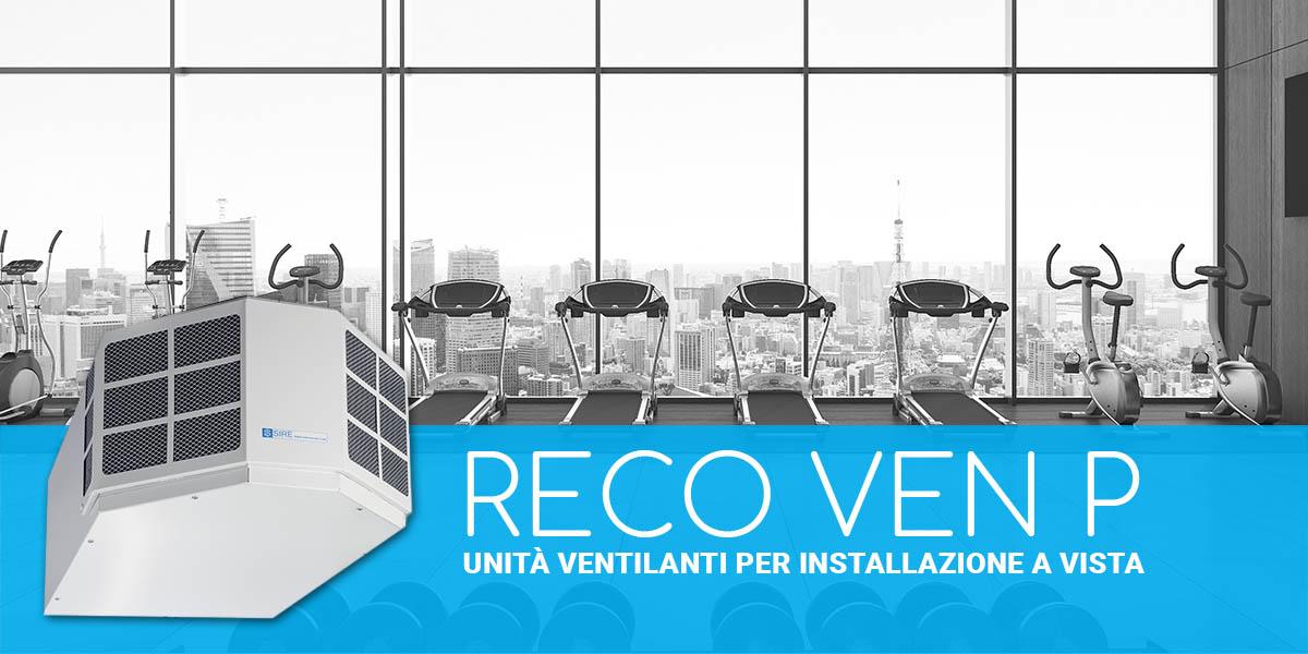 Unità ventilanti per installazione a vista