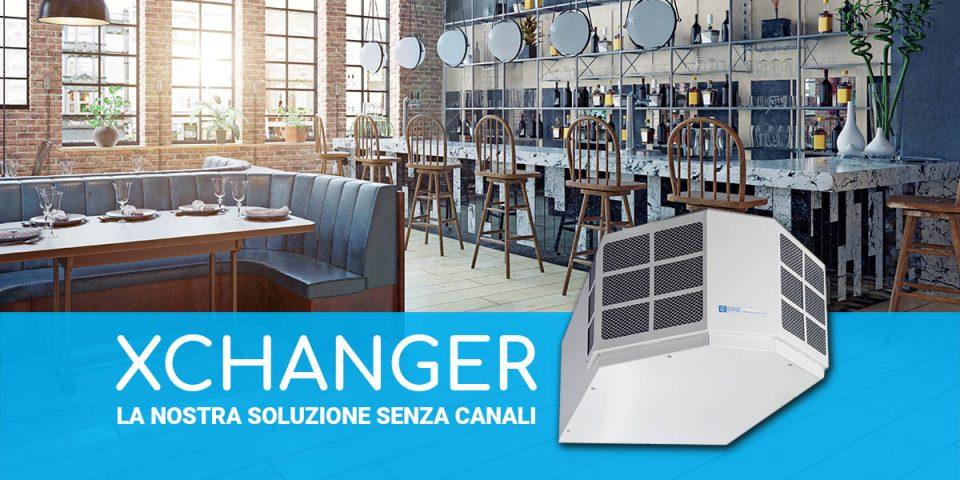 Xchanger: la nostra soluzione senza canali
