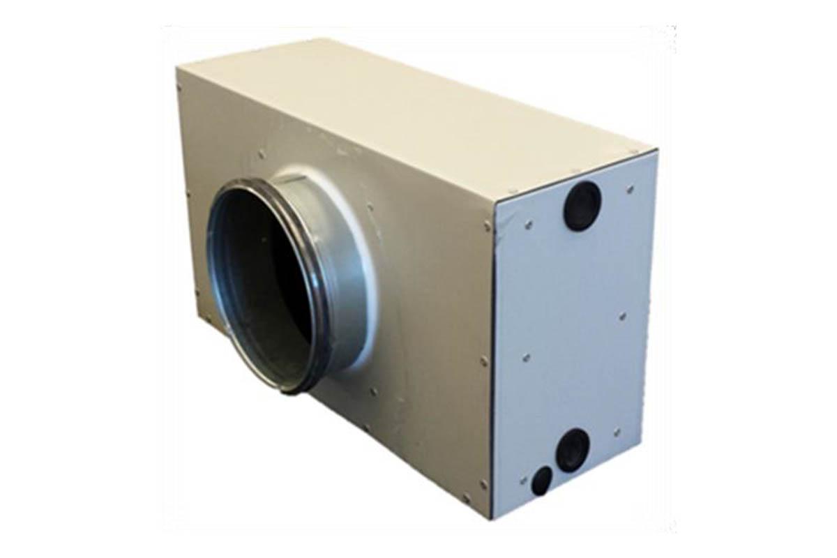 Batteria coibentata impianti ventilazione