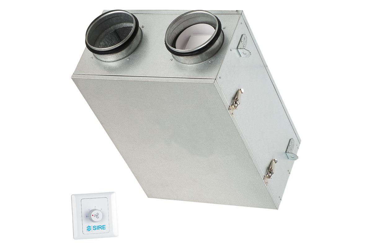 Unità ventilante canalizzabile D105