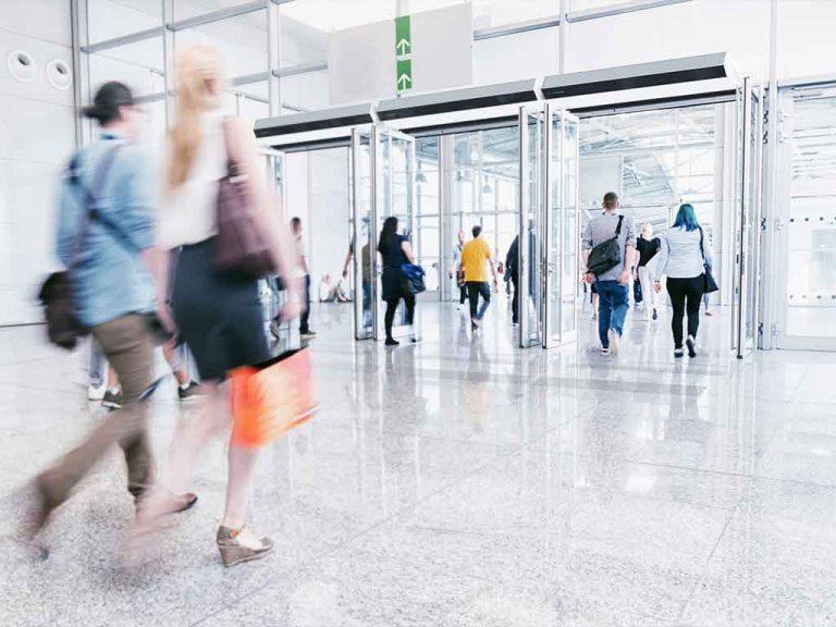 Barriera ventilante aeroporto
