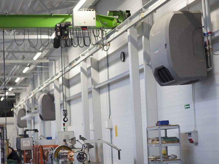 Unità ventilante capannone