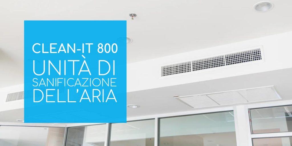 Sanificatore aria Clean It 800