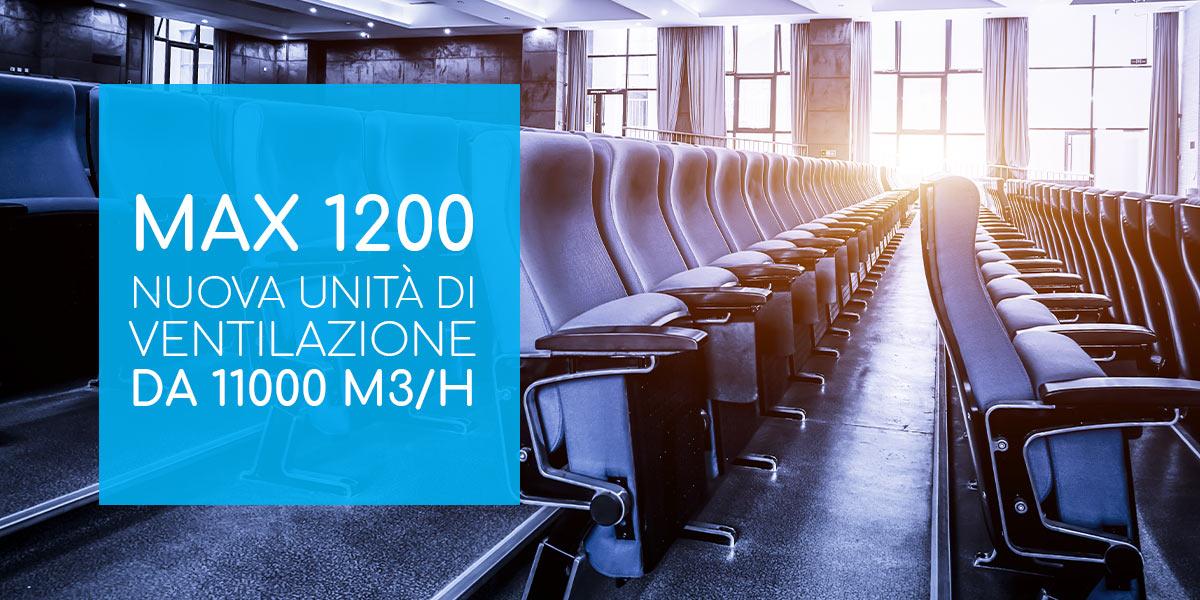 unita di ventilazione Max 1200